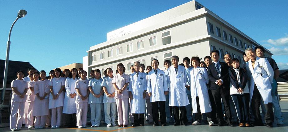 たまき青空病院グループ集合写真