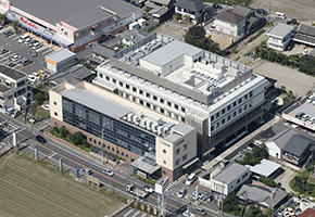 たまき青空病院 航空写真